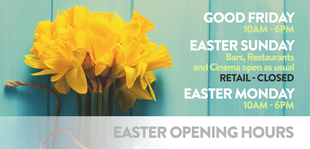Easter opening hours at Westgate Oxford