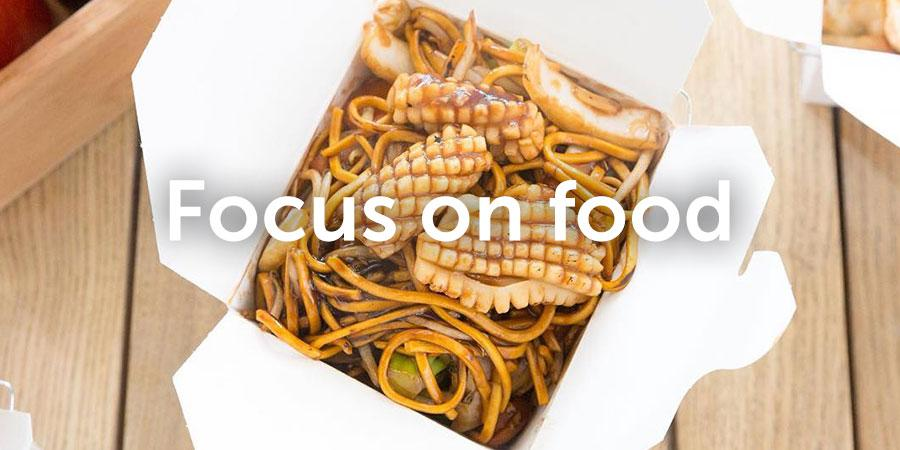 Focus on food at Westgate Social Street Food
