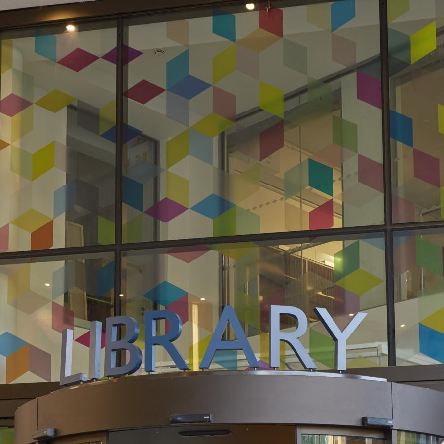 Nicky Hirst, Myriad, 2017. Oxford Central Library.  Image credit: Ben Westoby