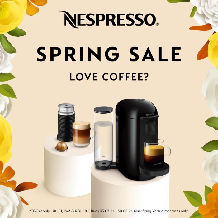 Nespresso spring sale